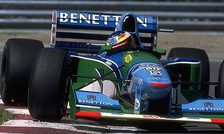 Benetton, equipe histórica da Formula 1 de 1994 - by theguardian.com