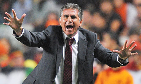 Cringeworthy: Carlos Queiroz replies to the Black Eyed Peas