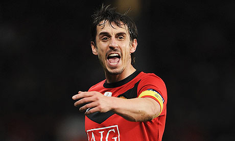 Gary Neville 001 [Avram] Grant may not have achieved much in the game, but neither have his players   Tony Cascarino