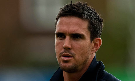 England's Kevin Pietersen will watch the tour Twenty20 game against South Africa A from his Johannesburg hotel room. Photograph: Gareth Copley/PA - Kevin-Pietersen-001