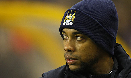 Robinho  Signing Man City