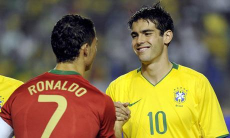 ronaldo brazil 1998. Ronaldo and Brazil#39;s Kaká