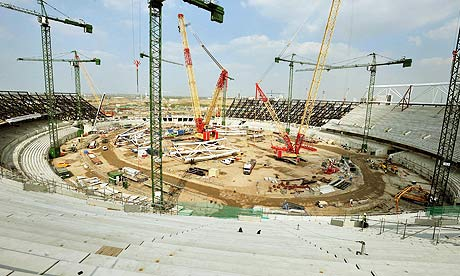 olympics london 2012 stadium. Organisers of the London 2012