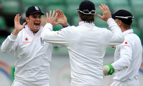 England's Andrew Strauss