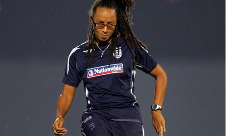 England women's coach Hope Powell