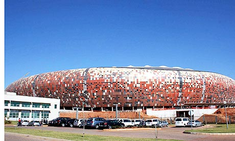 Soccer City Stadium South Africa is building six new arenas,