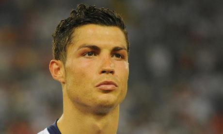 cristiano ronaldo madrid 2009. Cristiano Ronaldo promotes the