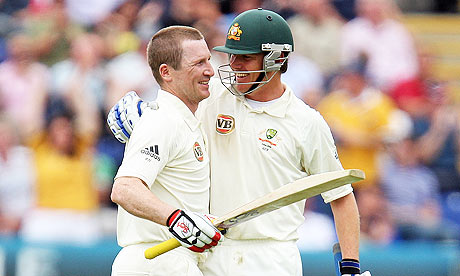 Brad Haddin and Marcus North
