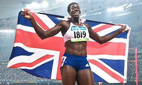 Christine Ohuruogu of Great Britain
