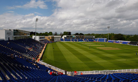 Swalec Stadium, venue for the first Ashes Test