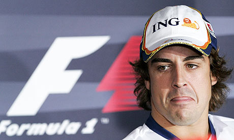 fernando alonso. Fernando Alonso has finally