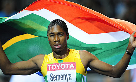 Caster Semenya was forced to undergo humiliating sex tests before her 800m ...