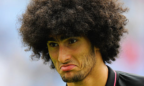 Marouane Fellaini 001 European Championship Qualifier: Germany v Belgium 