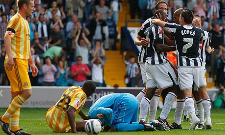 West Bromwich Albion v Newcastle United
