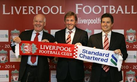 Gareth Bullock, Kenny Dalglish, Christian Purslow