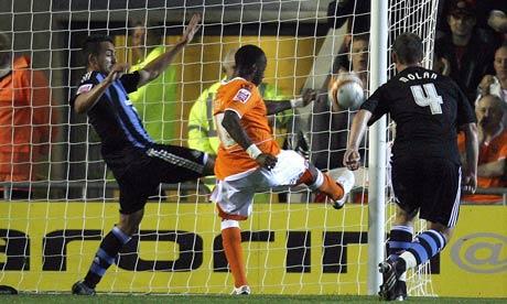 jason bloomfield. Jason Euell scores Blackpool#39;s