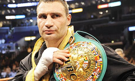 Vitali Klitschko Vitali Klitschko sends out a message to David Haye and the