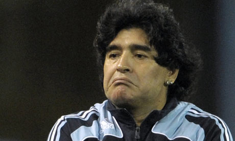 Diego Maradona turns on press as criticism for coaching method grows | 				Football | 				guardian.co.uk