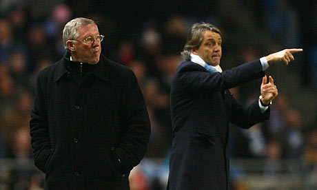 Manchester City are 5/1 to win at Manchester United to reach the Carling Cup final
