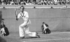 Fred Perry winning 1933 US Open against Jack Crawford