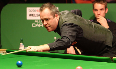 john higgins. John Higgins in action during