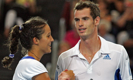 laura robson pics. Laura Robson and Andy Murray