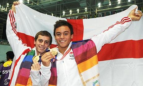 Tom Daley (right) and Max Brick