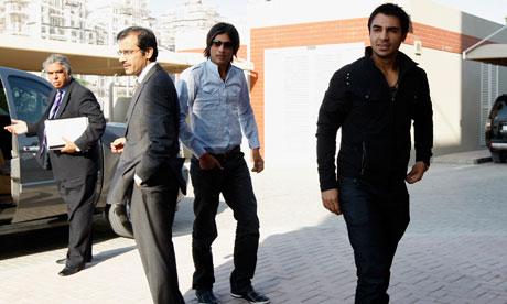 Salman Butt, right, and Mohammad Amir