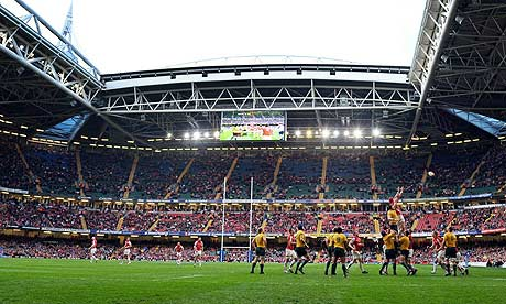 Cardiff and Bristol set to host matches in 2013 Rugby League World Cup