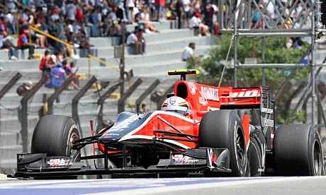 Virgin Racing Formula One are yet to win a point this season.