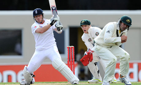 ian bell 2010. Ian Bell smites the