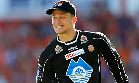 Aalesund goalkeeper Anders Lindegaard