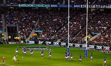 England v Samoa Twickenham