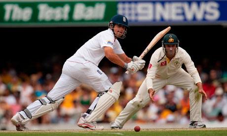 alastair cook ashes. Alastair Cook on the way to