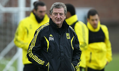The Liverpool manager, Roy Hodgson
