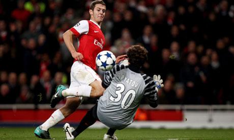 Jack Wilshere Arsenal midfielder