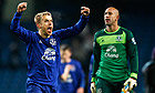 Everton warm to task ahead without a snood in sight