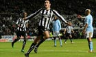 Roberto Mancini makes overtures to Newcastle's Andy Carroll