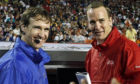 Drew Brees ve Peyton Manning