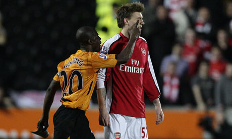 If redrob was born of African origin and was actually good at football Boeteng-bendtner-001