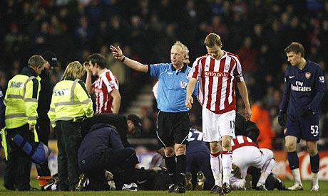 spare us the sanctimony about ryan shawcross being a nice lad dara o