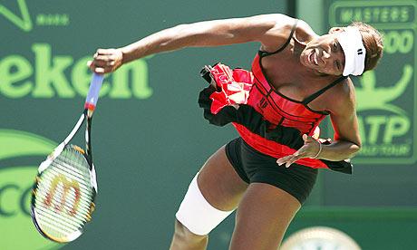 foto de Venus Williams reached Key Biscayne final at expense of