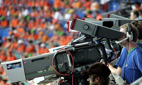 Football on television