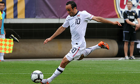Landon Donovan of the USA in