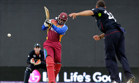 West Indies v England, Chris Gayle, Tim Bresnan