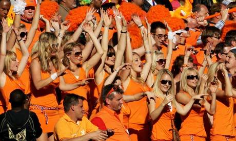 wearing of the orange