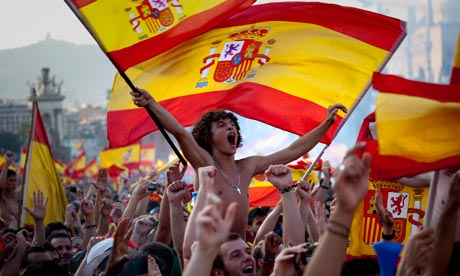 spanish soccer fans