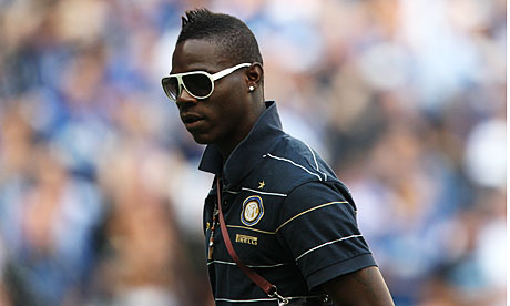 Mario Balotelli is a douche.