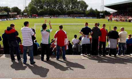 Non-league football's financial frailties