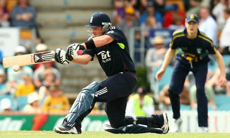 Ian Bell: Australian PM's XI v England - Tour Match
